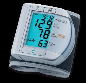 Monitor de Pressão Arterial Automático de Pulso Prata BPW100